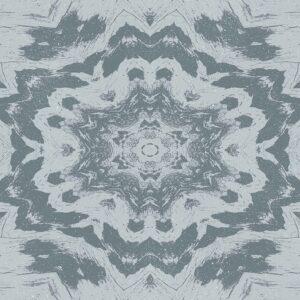 blue kaleidoscope image