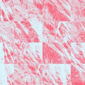 pink glitch abstract image