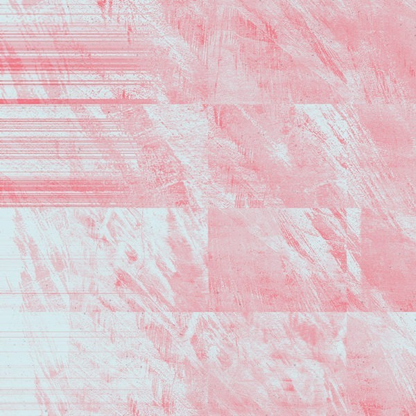 pink glitch abstract texture