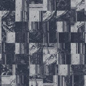 dark blue glitch wood grain tile