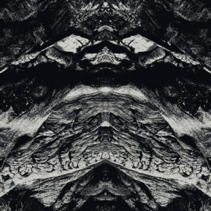 monochrome surreal terrain