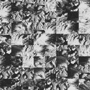 monochrome terrain grid