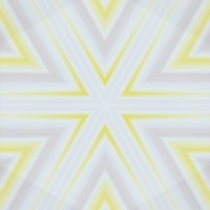 yellow ombre star