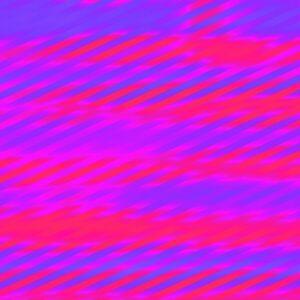 fuchsia and electric blue glitch stripes