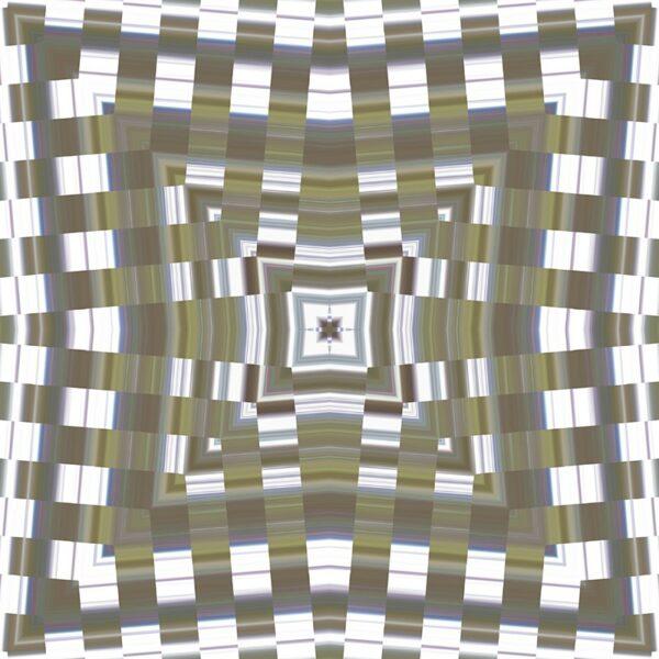 pearlescent square
