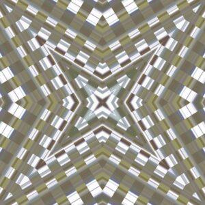 pearlescent kaleidoscopic image