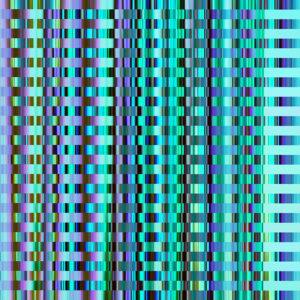 vivid blue glitch photo texture