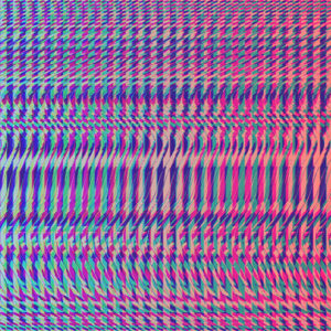 moire glitch gradient design op art