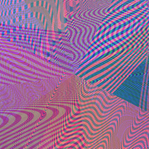 moire glitch gradient design op art abstract digital stock