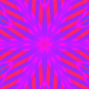 fuchsia and blue kaleidoscopic star abstract stock art image download