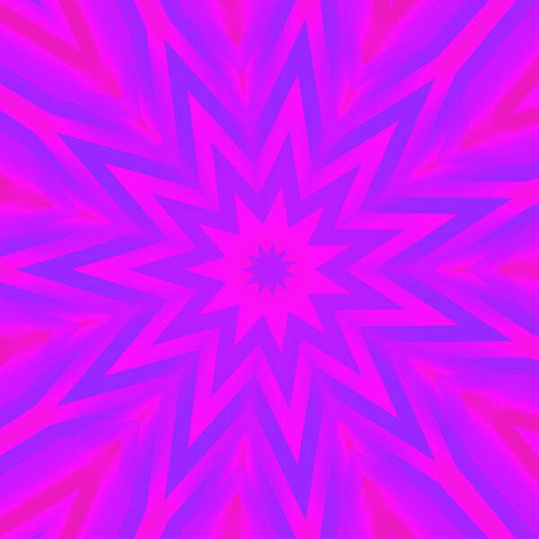 fuchsia and blue kaleidoscopic star contemporary art download