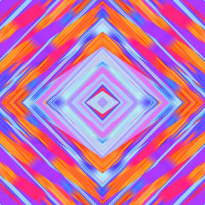 bright festive colorful kaleidoscopic digital art stock photo