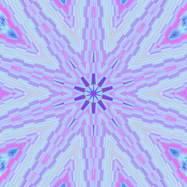 colorful kaleidoscopic digital stock art image