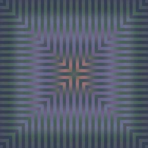 vesper muted ombre stripe design gradient graphic art