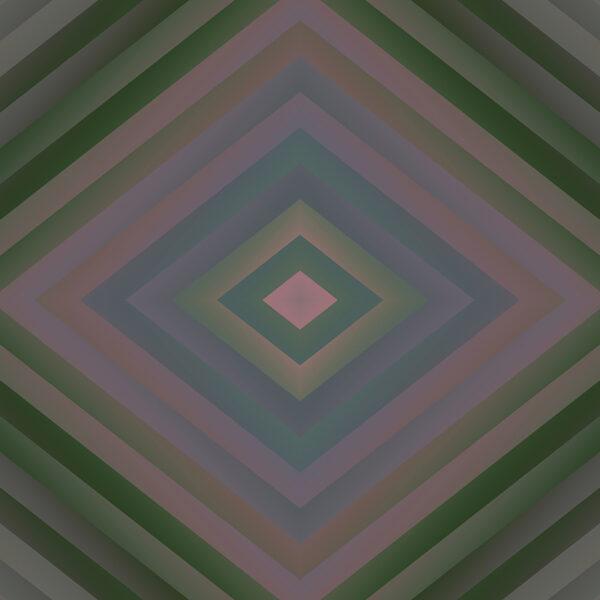 vesper muted ombre stripe fine art digital image