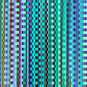 colorful stripes glitch design