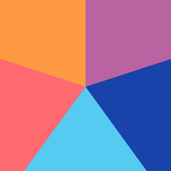 color block graphic