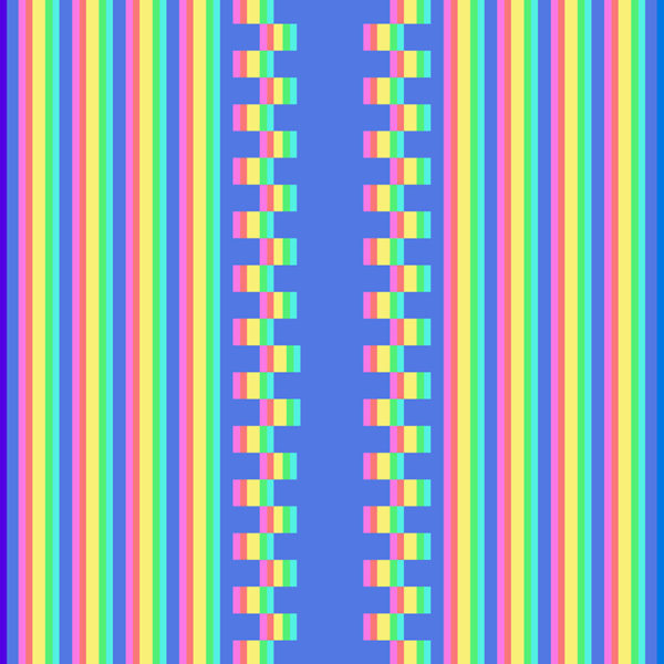 blue and yellow stripe image