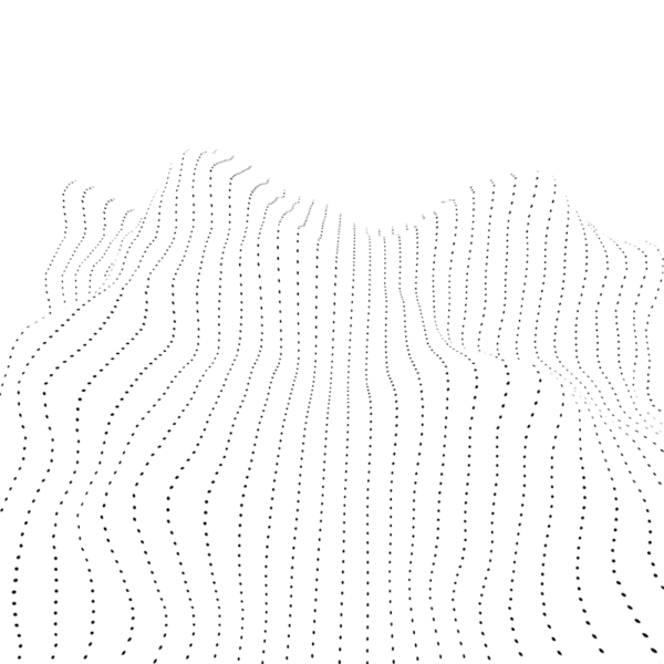 dotted wave graphic