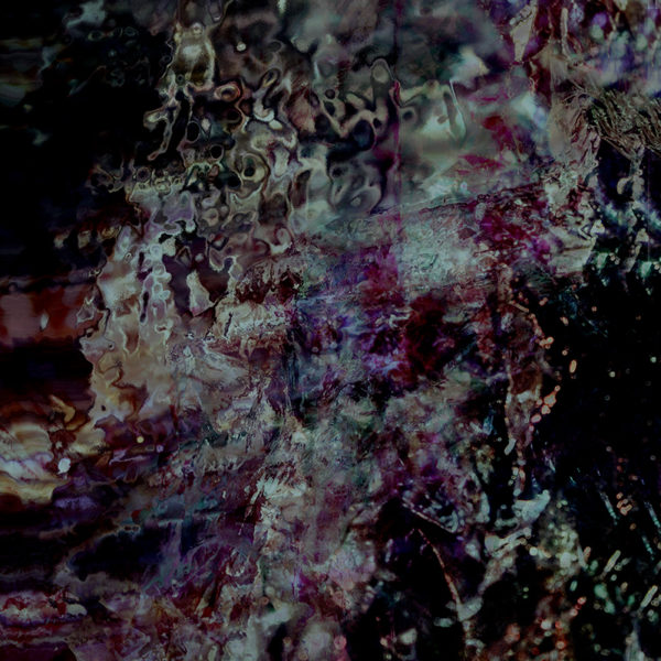dark crystalline abstract photo art image